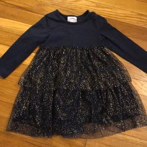 Hanna Andersson Tiered Ruffle Dress, 100 (size 4)